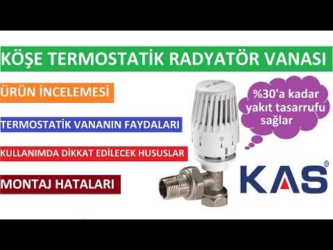 Köşe Termostatik Radyatör Vanası Ürün İncelemesi