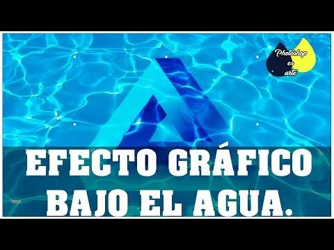 EFECTO GRÁFICO BAJO EL AGUA