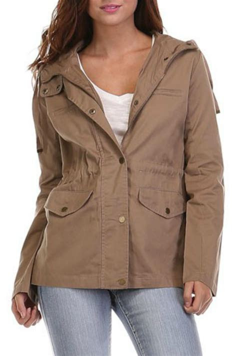 Heart & Hips Hoodie Utility Jacket from Fayetteville by
