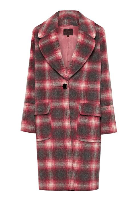 bonnie check coat women great plains