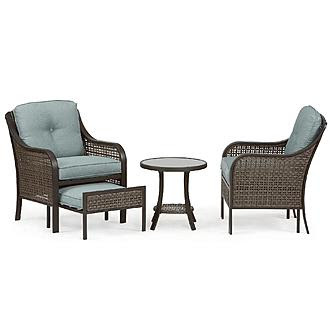 Garden Oasis Nichols 5pc Mixed Media Seating With Pull Out ...