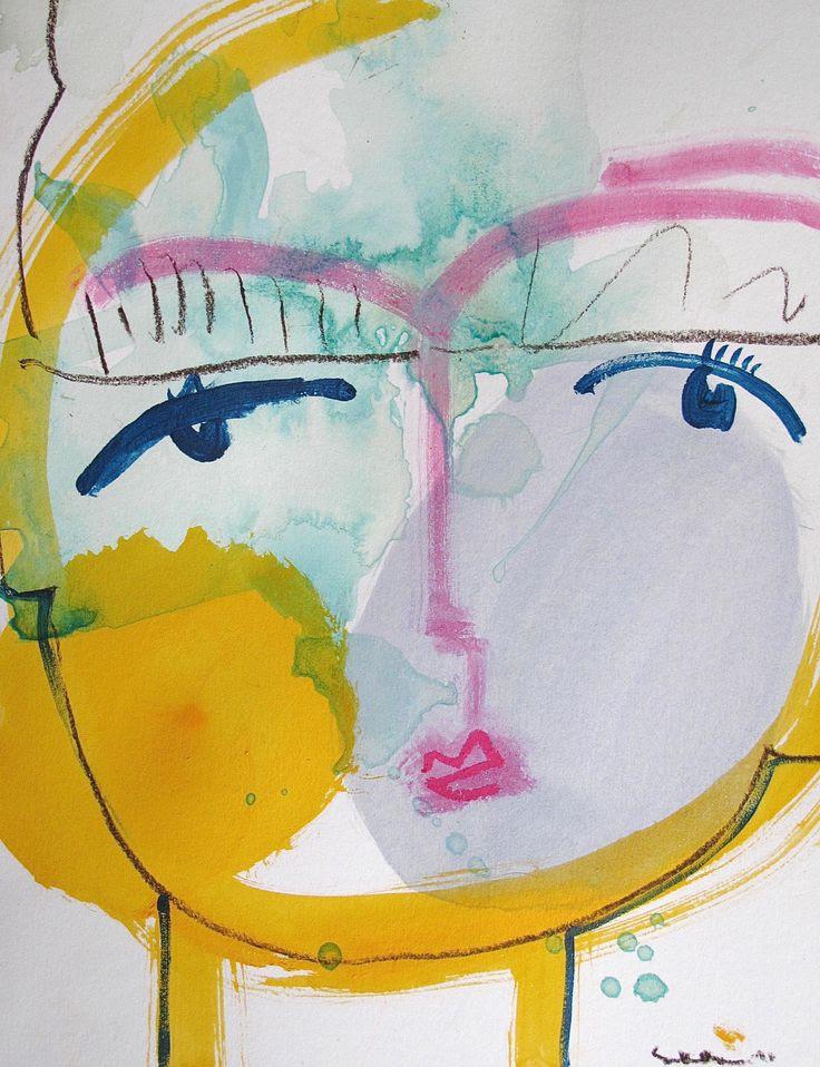 Sally King Benedict LOVE via Hidell Brooks Gallery