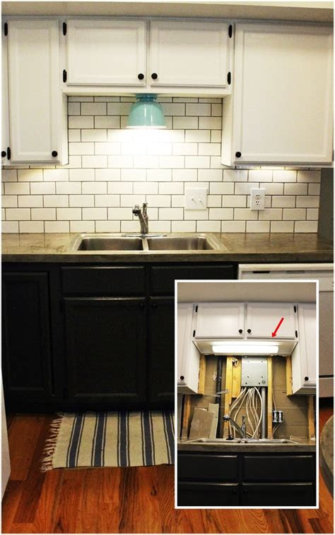 diy kitchen lighting upgrade led  cabinet lights