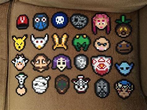Majora's Masks : beadsprites