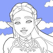 Coloriages Zelda Breath Of The Wild Frhellokidscom