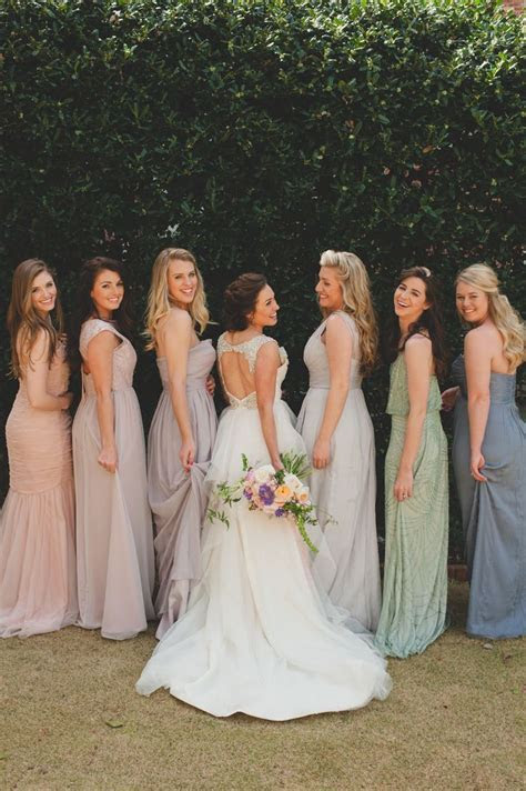 LOVE the mismatched pastel   goin' to the chapel   Wedding