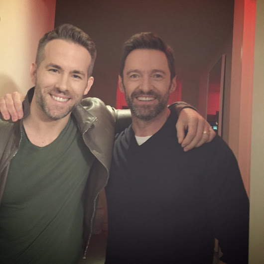 "Hugh Jackman on Twitter: ""Seriously, Mate. You've got to stop following me. SECURITY!!! @VancityReynolds @deadpoolmovie """