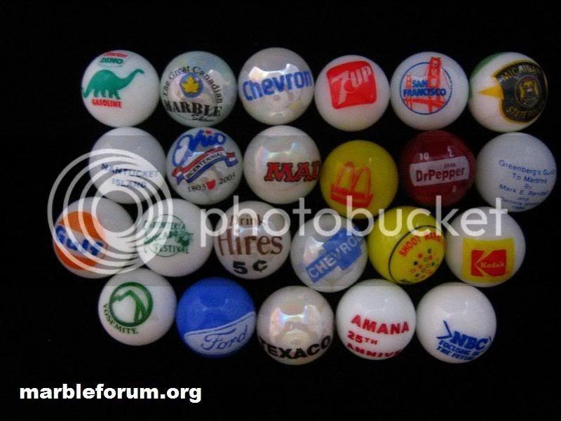 Marble Forum Advertising Marbles