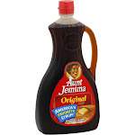 Aunt Jemima Pancake Syrup, Original - 36 fl oz bottle