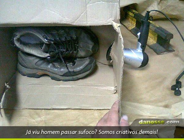 Secador de sapatos xing ling