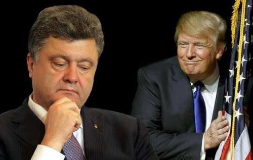 Картинки по запросу трамп посадит порошенко и его команду