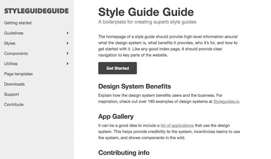 Style Guide-Driven Design Systems