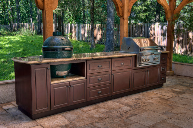 Select Outdoor Kitchen Custom Cabinets - Traditional ...