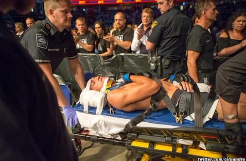 #UFCSaskatoon injury update - #CharlesOliveira released from hospital today