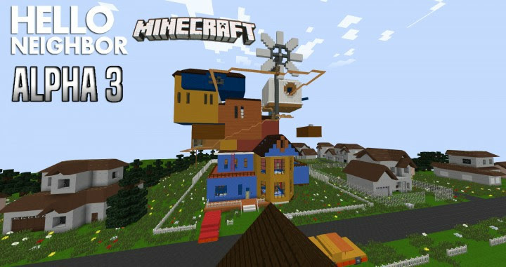 mapa hello neighbor minecraft download