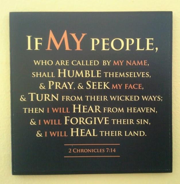 If My People Plaque 2 Chron 714quotesscripture From War Room