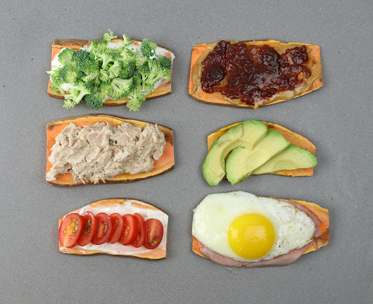 Sweet Potato Toast - Wanna Bite