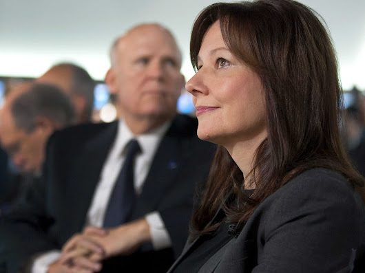 One Of The First Female Auto Execs Explains Why Making Mary Barra CEO Of GM Is Brilliant