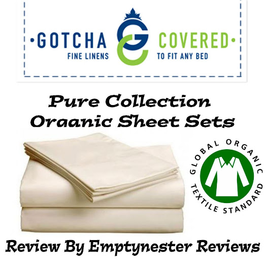 Gotcha Covered Pure Collection Organic Sheet Sets review - Emptynester Reviews