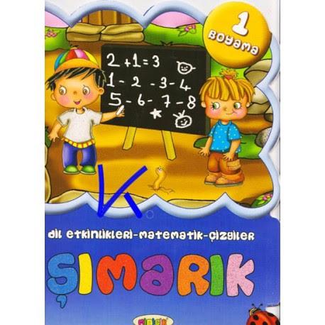 şımarık Minicik Dil Etkinlikleri Matematik çizgiler Boyama 1