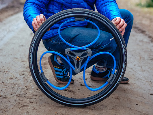 A Clever Shock-Absorbing Bike Wheel, Now for Wheelchairs | WIRED