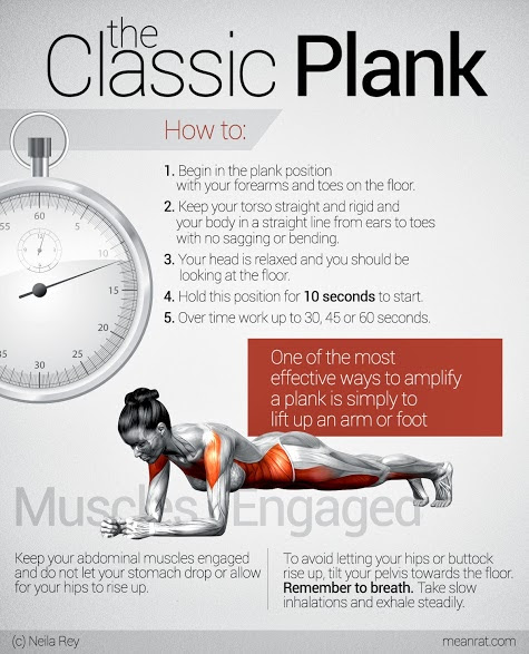 Plank your way to a better body