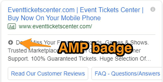 Google AdWords Testing AMP Label On Search Ads