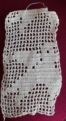 scrap of lace bird
