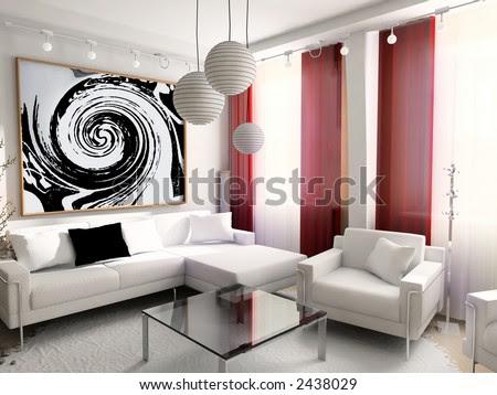Modern, Interior, House, Dwelling, Design, Technology,