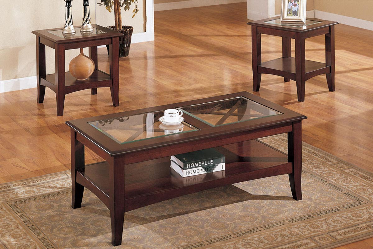 Mahogany Coffee Table With Glass Top | Coffee Table Design Ideas