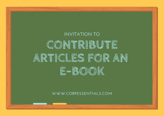 Invitation to Contribute Articles for an E-book