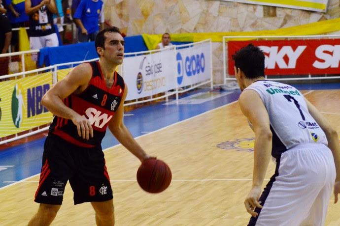 São José Basquete x Flamengo Benite (Foto: Danilo Sardinha/ GloboEsporte.com)