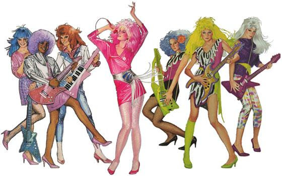 Jem and the Holograms Party Ideas - Themeaparty
