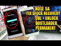 Atasi Stuck Bootloop Mi Recovery Xiaomi Redmi Note 5A Ugglite (UBL Unlock Bootloader)