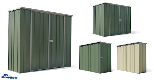 5 New Slim Spanbilt Garden Sheds Available
