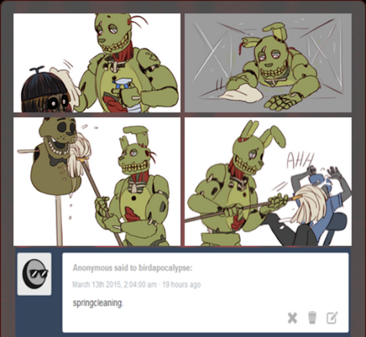 Image: Springcleaning | Springtrap | Know Your Meme