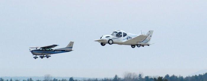 Transition, o carro voador