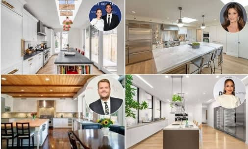 12 of the most stylish celebrity kitchens