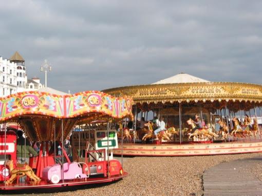carousel on the beach