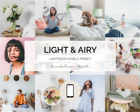 3 Lightroom Mobile Presets   Desktop Presets // LIGHT