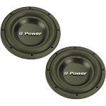 "(2) NEW! Q-POWER QPF10 10"" 3400 Watt Deluxe Series DVC Car Audio Subwoofers Subs at Spreetail (VMinnovations   VM Express)"