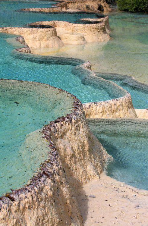 Natural Pools Rock, Pamukkale, Τουρκία