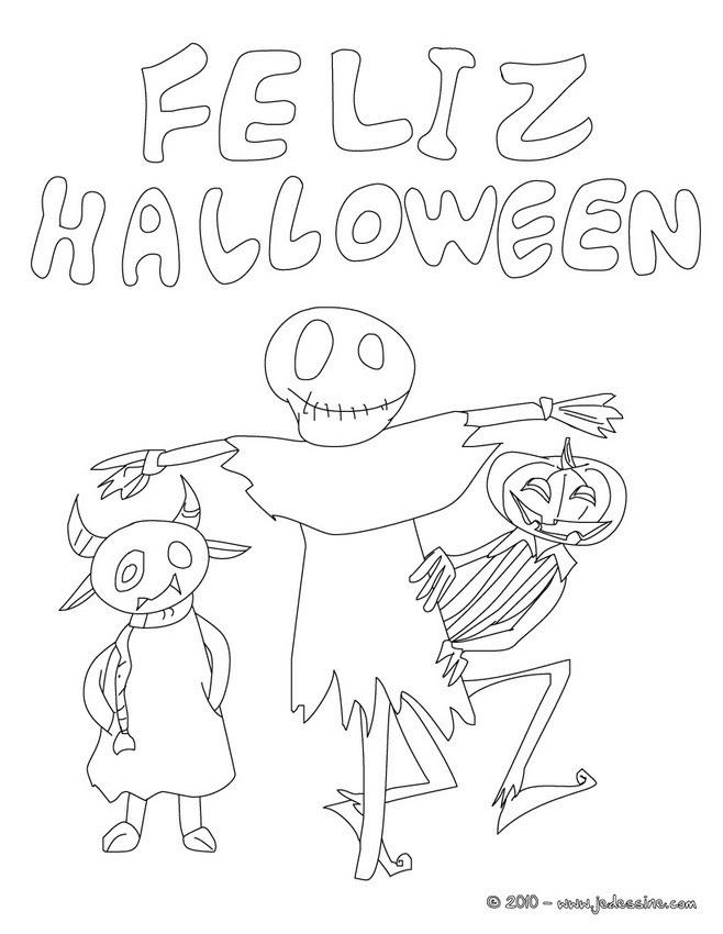 Coloriage Monstre Halloween 39 Coloriages Dhalloween Gratuits à