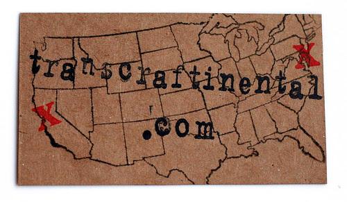 Blogness card, take 1