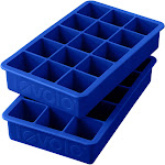 Tovolo Perfect Cube Ice Tray (Stratus Blue, Set Of 2)