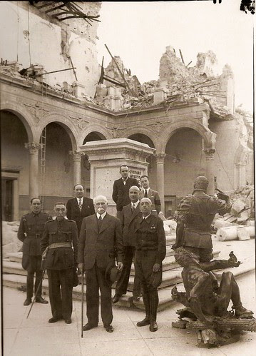 El Mariscal Pétain en Toledo , 1939 (Fotografía Rodríguez)