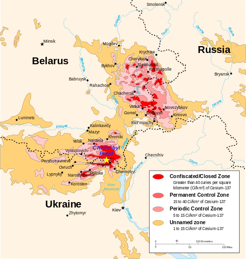chernobyl radiation map 1996, cia factbook