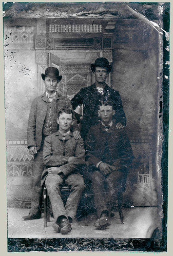 Tintype quartet enhanced