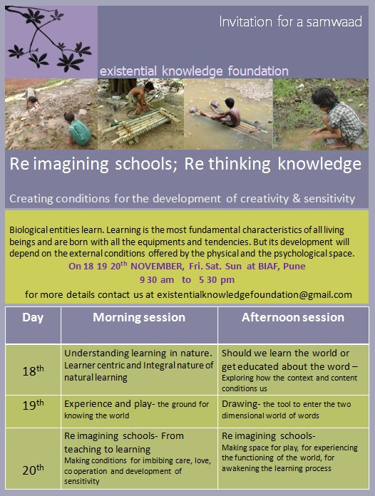 Samvaad on learning, children and ecology