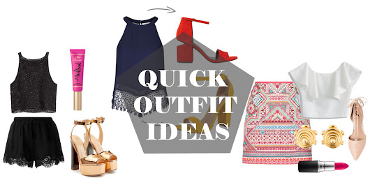 Quick Outfit Ideas For the Girl on the Go